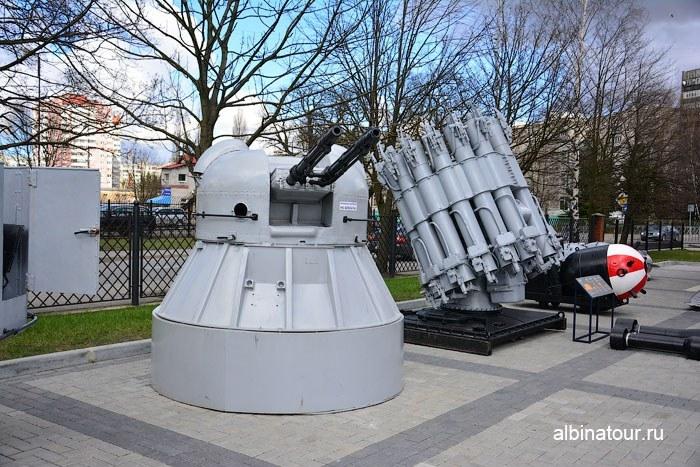 Калининград музей мирового океана зенитки