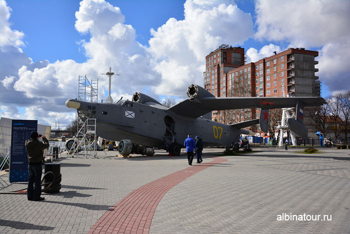 Калининград музей мирового океана гидросамолет БЕ-12