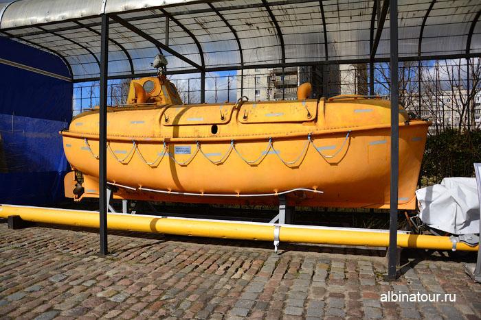 Калининград музей мирового океана спасательная шлюпка