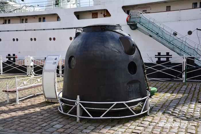 Калининград музей мирового океана космический аппарат