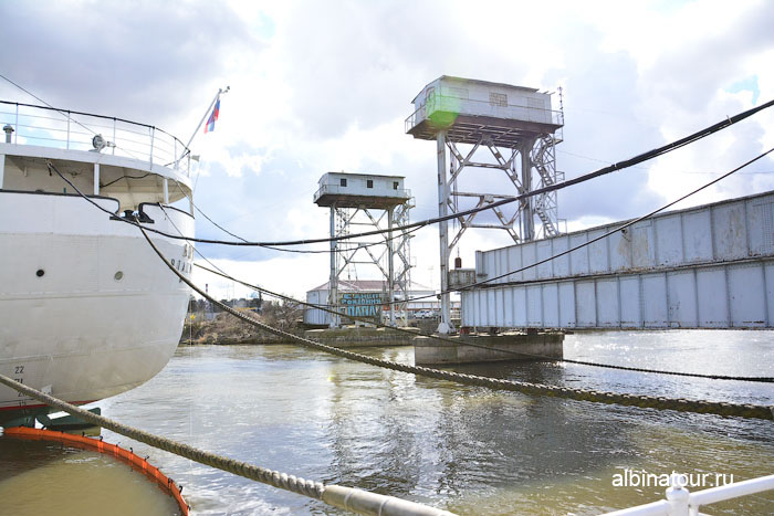 Калининград музей мирового океана старый железнодорожный мост 1