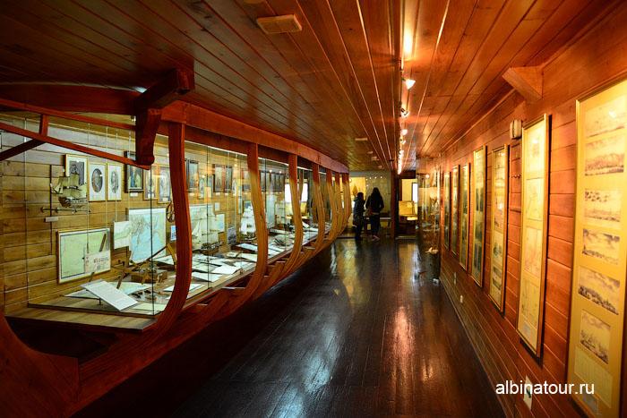Калининград музей мирового океана судно Витязь 3