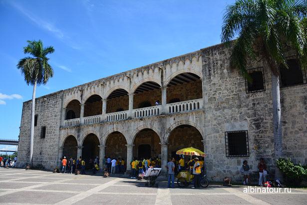 Доминикана Санто Доминго королевский дворец