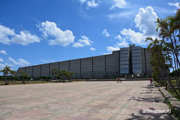 Доминикана Санто Доминго маяк Колумба