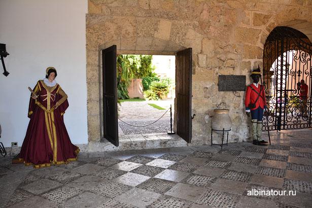 Доминикана Санто-Доминго музей Касас-Реалес 2