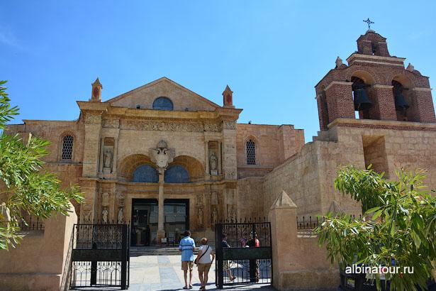 Доминикана Собор пресвятой девы Марии главный вход