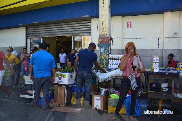 Доминикана Санто Доминго уличная торговля 2