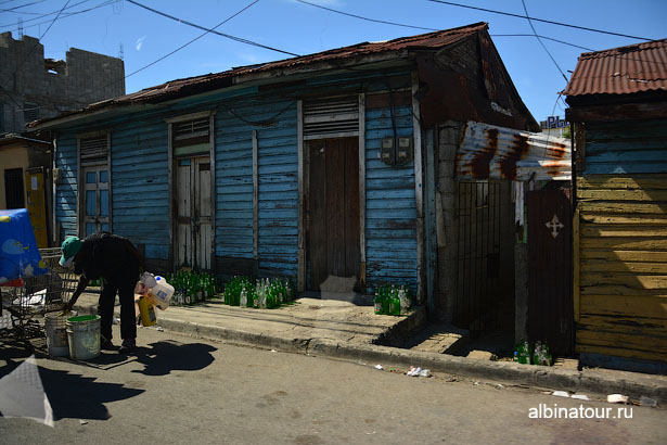 Доминикана улица в Санто-Доминго