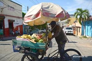 Доминикана Санто-Доминго торговец
