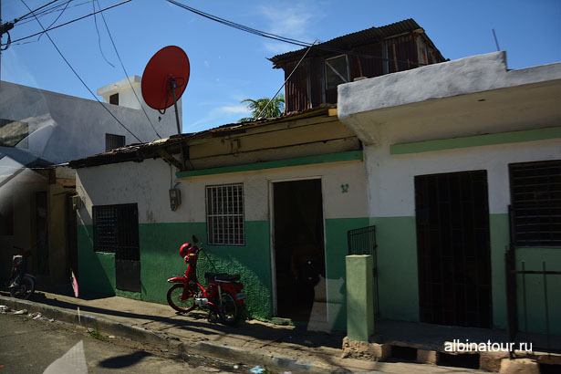 Доминикана улица в Санто-Доминго 2