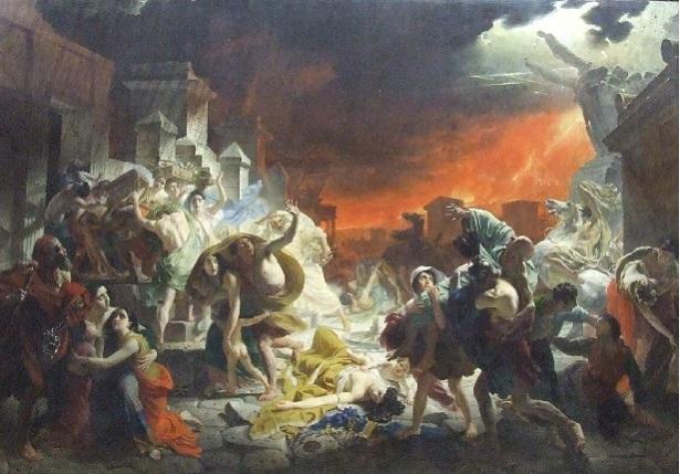 "Петербург Русский музей Брюллов ""Последний день Помпеи"" 1833"