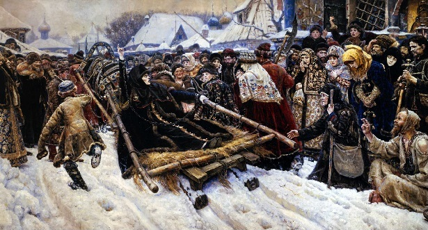 "Петербург Русский музей Суриков ""Боярыня Морозова"" 1884-1887"