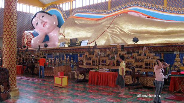 Пенанг Храм лежащего Будды
