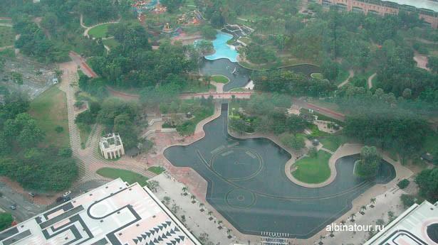 Малазия вид Куала Лумпупа с башни Petronas 2