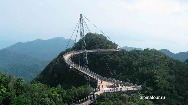 Малазия Лангкави Langkawi Sky bridge