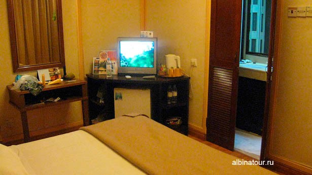 Лангкави отель Mutiara Burau Bay внутри бунгало 2