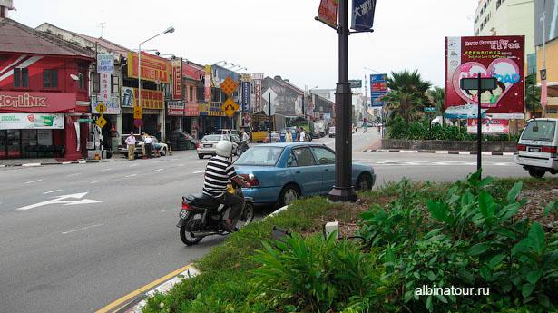 Малайзия остров Пенанг улица города