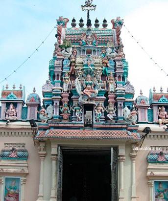 Пенанг Храм Шри Мариамман