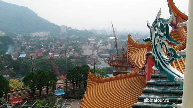 Пенанг kek-lok-si вид на окрестности 2
