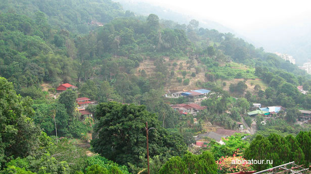 Пенанг kek-lok-si вид на окрестности 3