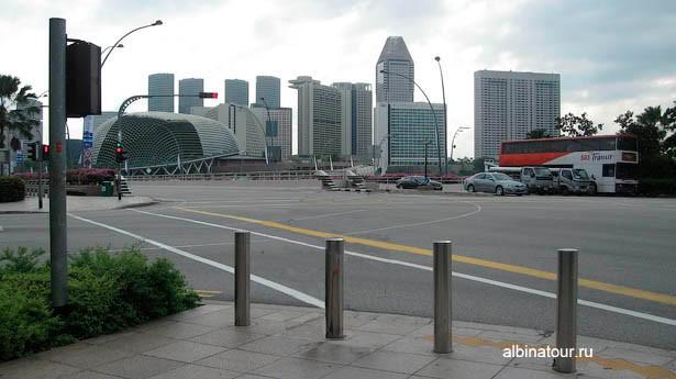 Сингапур вид города
