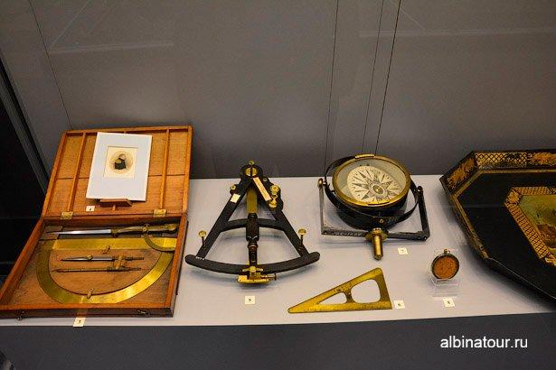 Экспонат личные вещи Военно-морской музей