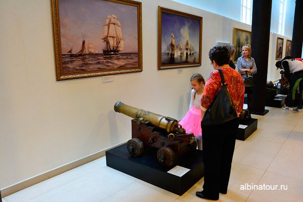 Санкт-Петербург экспонат Военно-морского музея