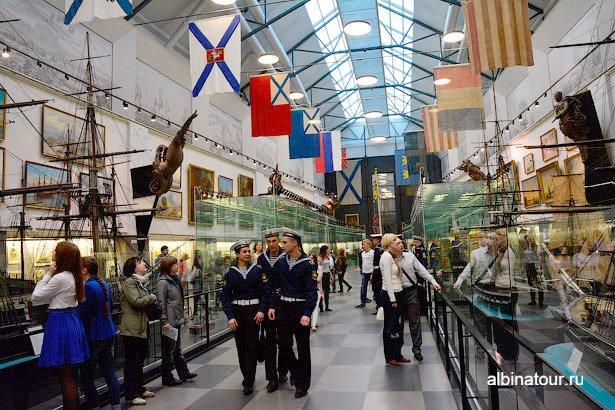 Санкт-Петербург зал 1 Военно-морского музея