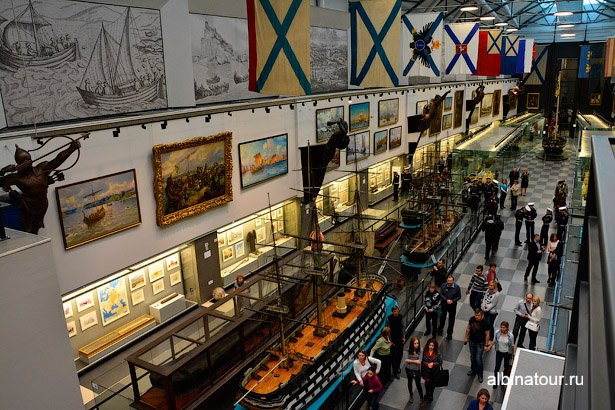 Санкт-Петербург зал 1 Военно-морского музея вид 2