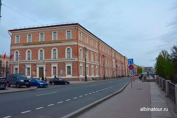 Санкт-Петербург здание Военно-морского музея