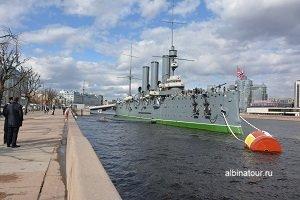 Фото крейсер Аврора СПб