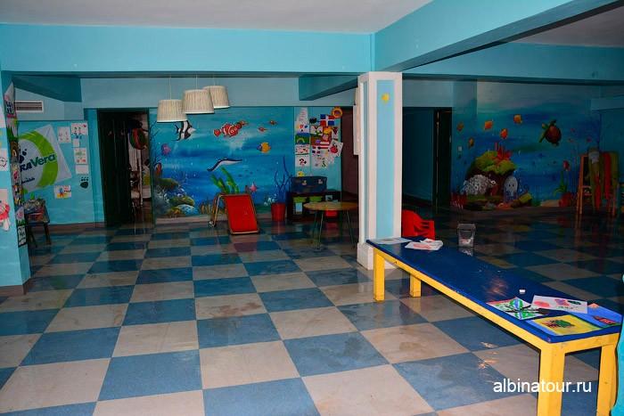 Детский клуб внутри в отеле Be Live Collection Canoa в Доминикане