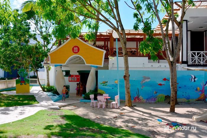 Детский клуб в отеле Be Live Collection Canoa в Доминикане
