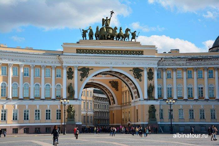Арка Главный штаб Санкт Петербург