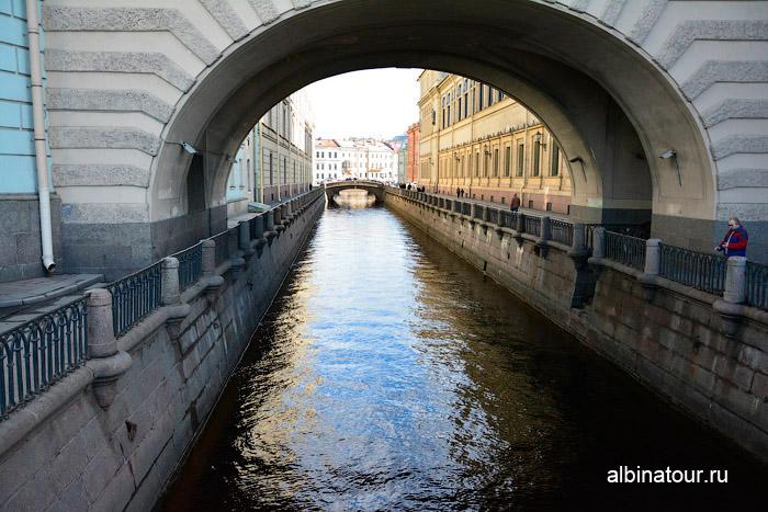 Фото Зимняя канавка Санкт Петербург