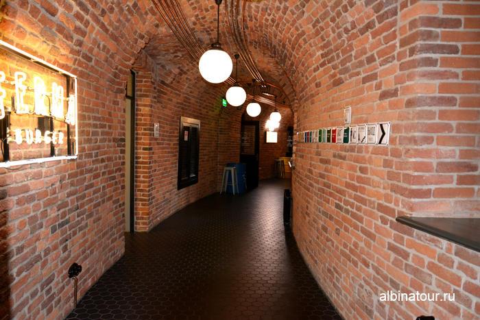 Новая Голландия Петербург фото здание Бутылка коридор первого этажа