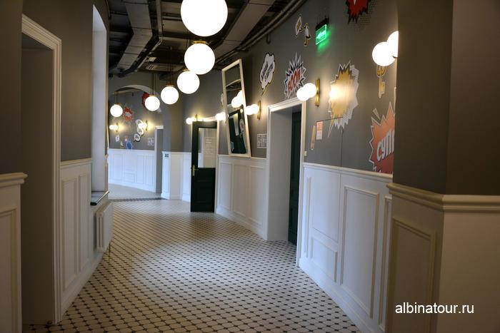 Новая Голландия СПб фото здание Бутылка коридор второго этажа