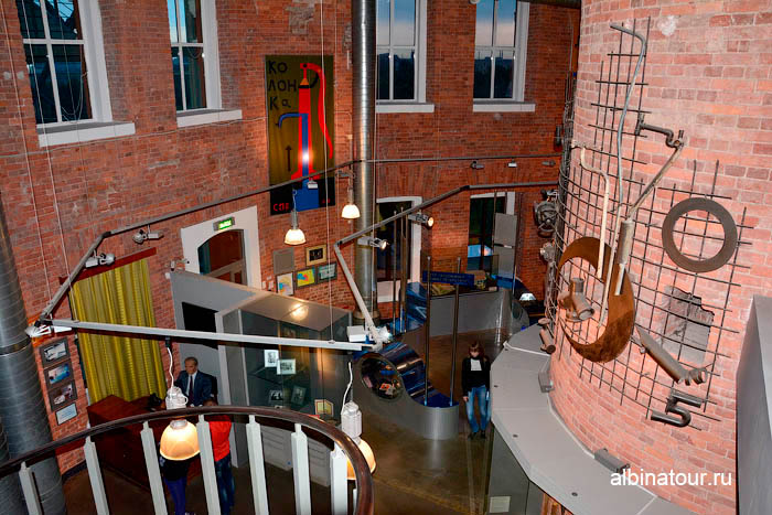 Четвертый этаж музейный комплекс Вселенная Воды Петербург