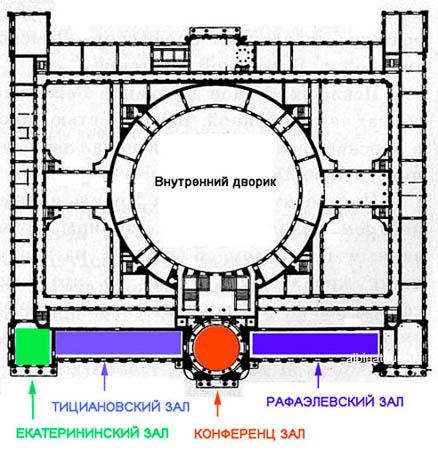 музей Академии художеств в Санкт Петербурге план схема