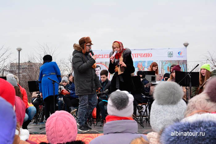 Фото на сцене детский музыкальный ансамбль