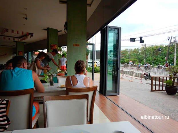 Фото Завтрак на открытой площадки
