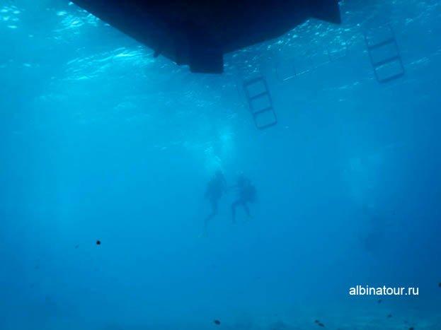 Фотография Подъем со дна моря на борт судна