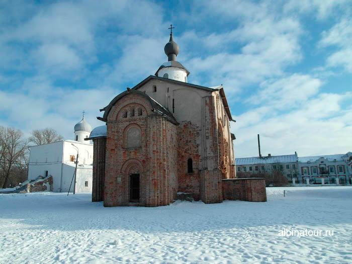 Церковь Параскевы Пятницы в Ярославово городище и торге в Великом Новгороде