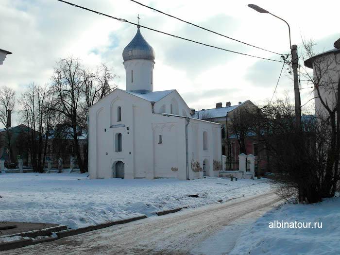 Фото церковь Прокопия в Ярославово городище и торге в Великом Новгороде
