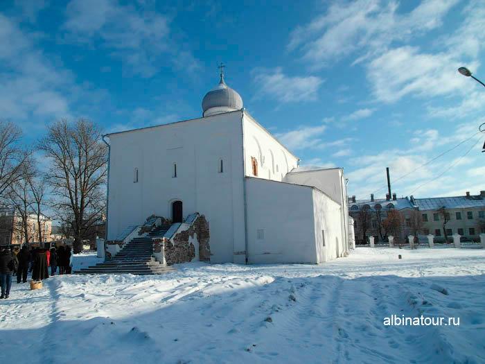Фото Церковь Успения на Торгу в Ярославово городище и торге в Великом Новгороде