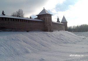 Великий Новгород Кремль Детинец