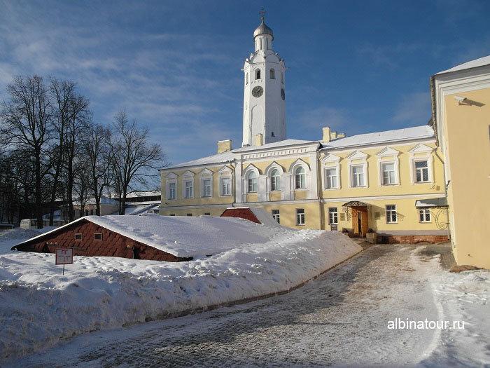 Фото раскопа палат Архиепископа Василия Великий Новгород