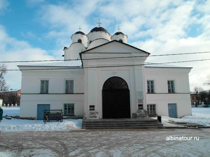 Никольский собор в Ярославово городище и торге в Великом Новгороде