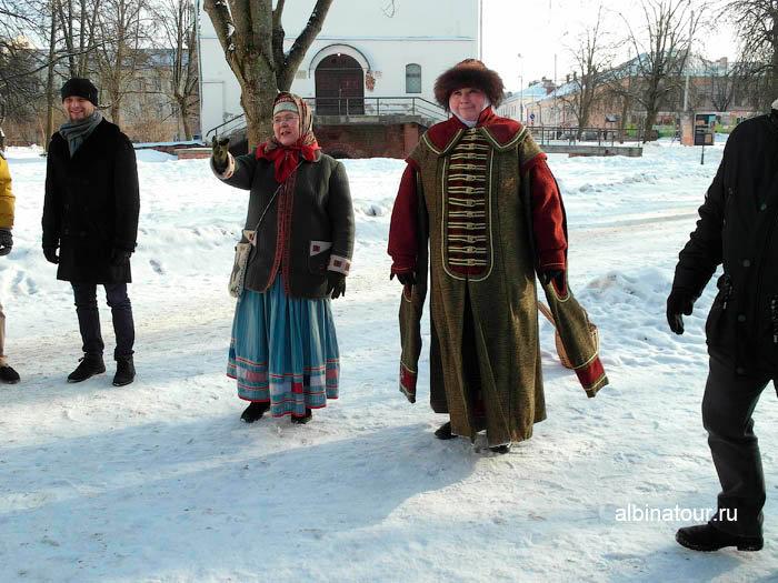 Фото экскурсоводы в Ярославово городище и торге в Великом Новгороде