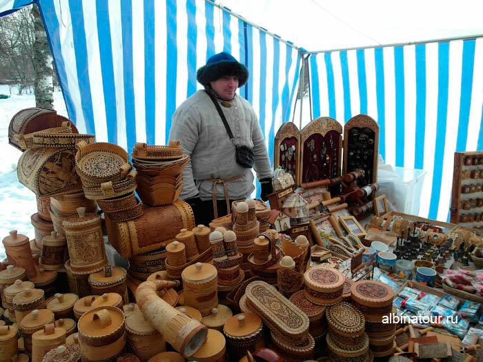 Современный купец в Великом Новгороде